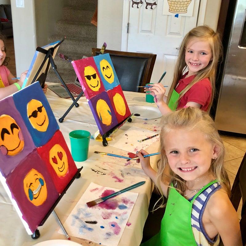 cactus kids painting
